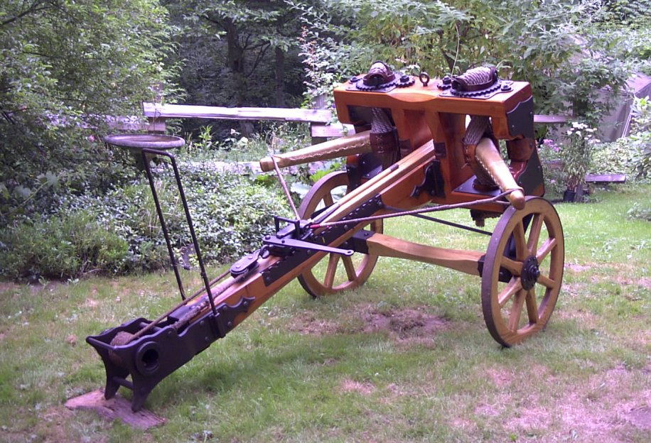 Gallwey carroballista - The Ballista
